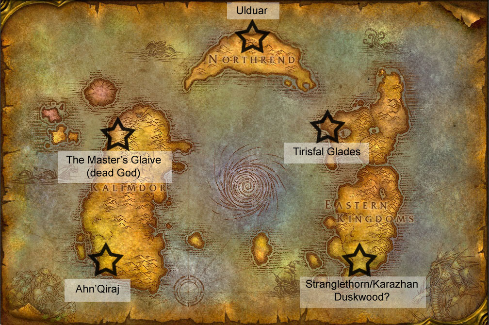 Cataclysm or catalyst speculation on the future of azeroth click for a larger image gumiabroncs Choice Image